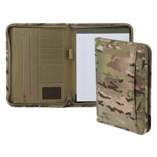Mercury Tactical Gear Zippered Padfolio MultiCam