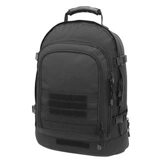 Mercury Tactical Gear Three Day Backpack Black