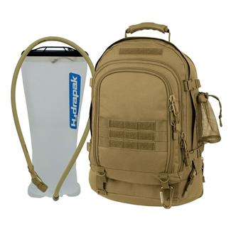 Mercury Tactical Gear Tac Pak with Hydrapak Coyote