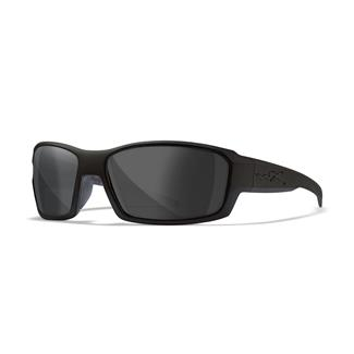 Wiley X Rebel Matte Black (frame) - Smoke Gray (lens)