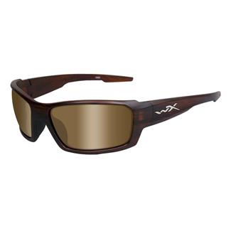 Wiley X Rebel Matte Tortoise (frame) - Polarized Bronze (lens)