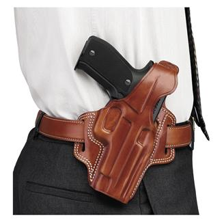 Galco Fletch High Ride Belt Holster Tan