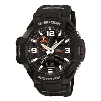 Casio Tactical G-Shock G-Aviation GA1000 Black