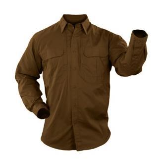 5.11 Long Sleeve Taclite Pro Shirts Battle Brown