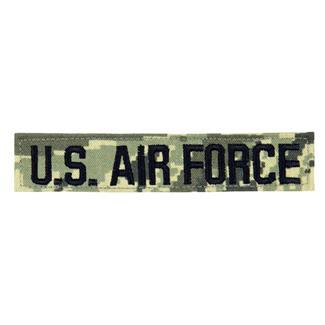 U.S. Air Force Branch Tape Digital Tiger Twill