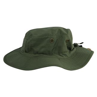 71e42f4d69455 TRU-SPEC Poly   Cotton Ripstop Contractor Boonie Hat Olive Drab