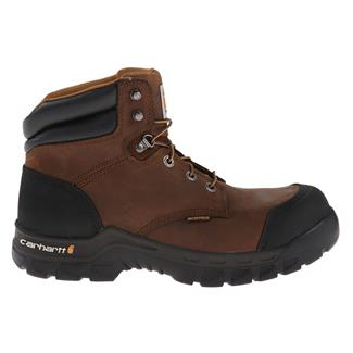 "Carhartt 6"" Rugged Flex CT WP Dark Brown Oil Tanned"