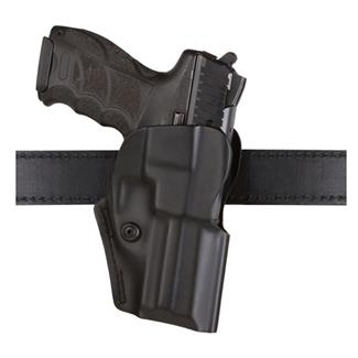 Safariland Open Top Concealment Belt Clip Holster with Detent Black STX Plain