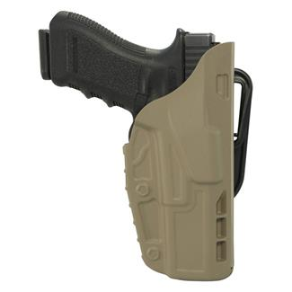 Safariland 7TS ALS Concealment Belt Loop Holster SafariSeven Plain FDE Brown