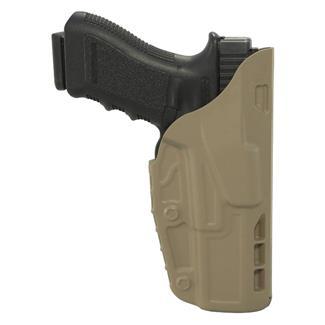 Safariland 7TS ALS Concealment Belt Clip Holster SafariSeven Plain FDE Brown