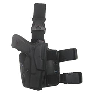 Safariland Quick Release Leg Strap ALS Tactical Thigh Holster STX Tactical Black