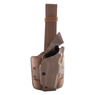 Safariland Quick Release Leg Strap ALS Tactical Thigh Holster STX Tactical FDE Brown
