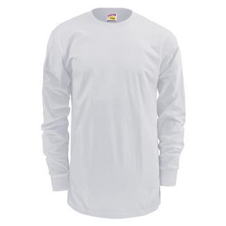 Soffe Dri-Release Long Sleeve T-Shirt White