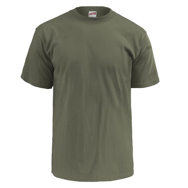 c052b911a Men's Soffe Lightweight Crew Neck T-Shirt (3 Pack) | Tactical Gear ...