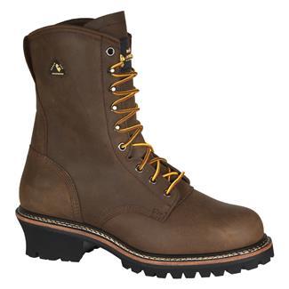 Golden Retriever Men 's 9 Steel Toe Work Boot B00125NUFO