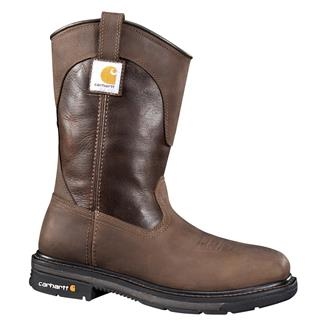 "Carhartt 11"" Tanned Wellington Square Toe ST Brown / Dark Brown"