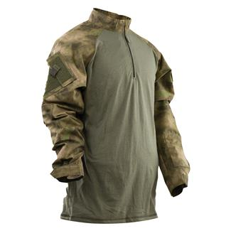 TRU-SPEC Nylon / Cotton 1/4 Zip Tactical Response Combat Shirt A-TACS FG