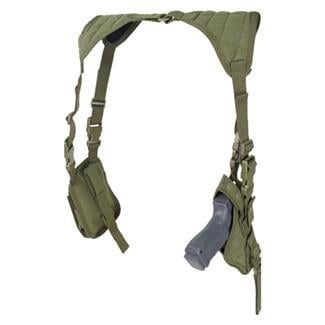 Condor Vertical Shoulder Holster OD Green