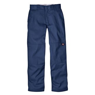 Dickies Loose Fit Double Knee Work Pants Dark Navy