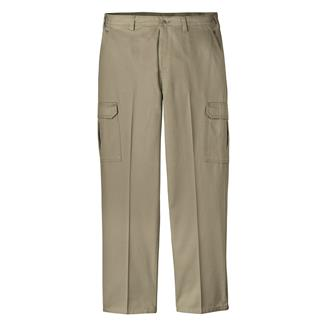 Dickies Loose Fit Cargo Pants Rinsed Khaki
