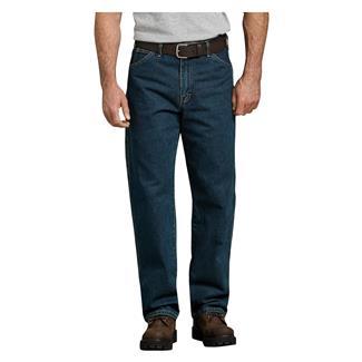 Dickies Relaxed Fit Denim Carpenter Jeans Tinted Heritage Khaki