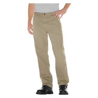 Dickies Relaxed Fit Duck Carpenter Jeans Rinsed Desert Sand