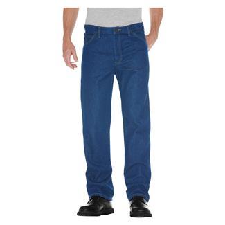 Dickies Regular Fit Denim Jeans Stonewashed Indigo Blue