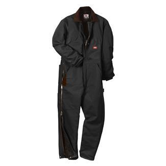 Dickies Premium Insulated Duck Coveralls Black