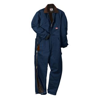 Dickies Premium Insulated Duck Coveralls Dark Navy