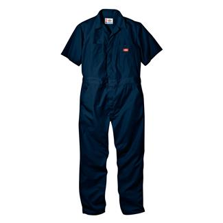 Dickies Short Sleeve Coveralls Dark Navy