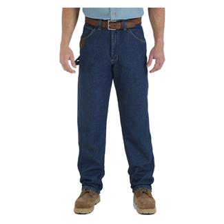 Wrangler Riggs Relaxed Fit Denim Work Horse Jeans Antique Indigo