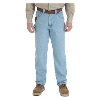Wrangler Riggs Relaxed Fit Denim Work Horse Jeans Vintage Indigo