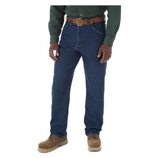 Wrangler Riggs Relaxed Fit Denim Carpenter Jeans Antique Indigo