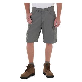 """Wrangler Riggs 10.5"""" Relaxed Fit Ripstop Ranger Shorts Slate"""