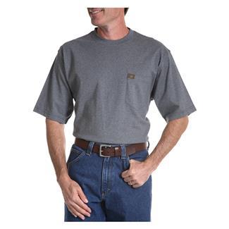 Wrangler Riggs Pocket T-Shirt Charcoal Grey