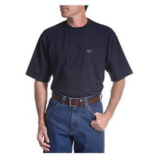 Wrangler Riggs Pocket T-Shirt Navy