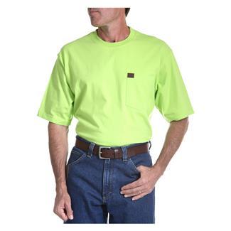 Wrangler Riggs Pocket T-Shirt Safety Green