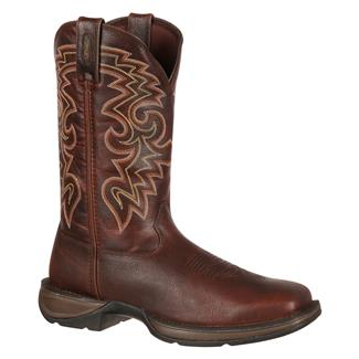 Durango Rebel Western Round Toe Dark Chocolate