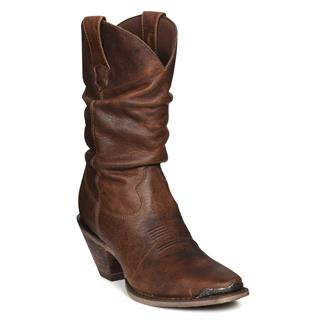 """Durango 10"""" Crush Sultry Slouch Distressed Sunset Brown"""