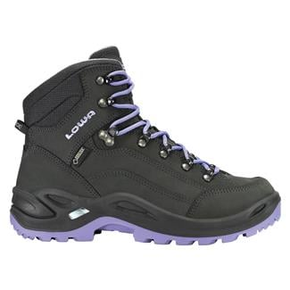 Lowa Renegade GTX Mid Anthracite / Lilac
