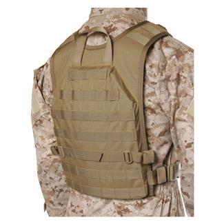 Blackhawk S.T.R.I.K.E. Lightweight Commando Recon Back Panel Coyote Tan