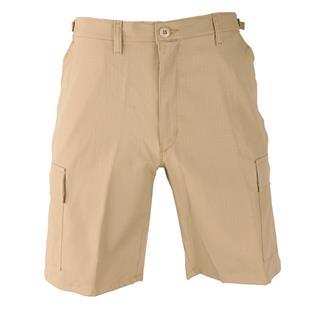Propper Cotton Ripstop BDU Shorts (Zip Fly) Khaki