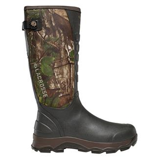 """LaCrosse 16"""" 4X Alpha Snake Boots WP Realtree Xtra Green"""