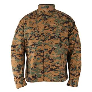 Propper Poly / Cotton Ripstop Original ACU Coats Digital Woodland