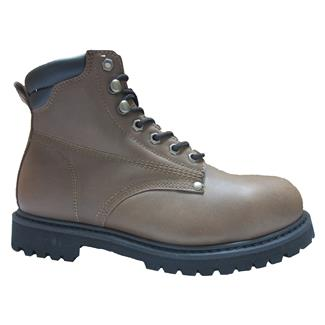 "Golden Retriever 6"" Work Boot Brown"