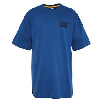 CAT Trademark T-Shirt Bright Blue