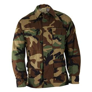 Propper Cotton Ripstop BDU Coats Woodland