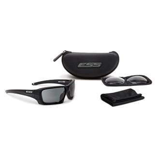 ESS Eye Pro Rollbar Black / Silver Logo (frame) (Lens) Clear / Smoke Gray (2 lenses)