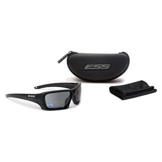 ESS Eye Pro Rollbar Black / Silver Logo (frame) Polarized Mirrored Gray (lens)