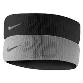 NIKE Dri-FIT Home & Away Headband Black / Base Gray